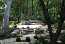 New Great Outdoor space with Boulders / Outdoor living space with PA Boulders