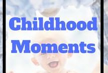 Childhood Moments!!!! / Awesome ideas for capturing your kids moments.