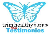"Testimonies - THM 2016 / (2016) Weight loss testimonies & NSV (non-scale victories) testimonies from ""real"" people - just like you! www.TrimHealthyMama.com"