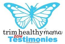 "Testimonies - THM 2014 / (2014) Weight loss testimonies & NSV (non-scale victories) testimonies from ""real"" people - just like you!  www.TrimHealthyMama.com"