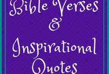 Bible Verses & Inspirational Quotes / inspirational Scriptures and quotes