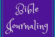 Bible Journaling / Bible journaling for beauty and memorization