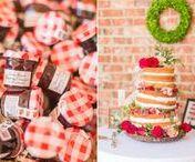 Farmer's Market Wedding
