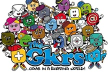 """THE GKRS® / Inspired by the world of the social networks, apps and blogs, 21 special characters are born, each one with its own personality, style and attitude. THE GKRS® are iconographic beings that reflect the world wide web, they are connected together by the common """"sharing"""" spirit, and this spirit give life to their world."""