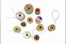 Illustrations - Knit, Crochet, Wool & Yarn / Illustrations