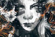 illustration / by Karolina Derlicka