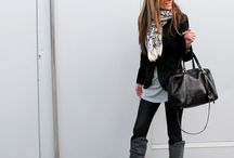 Casual chic/winter style / Fashion