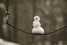 Snowmen, bonhomme de neige.