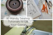 All About Sewing / Sewing tips/tricks, projects, etc.