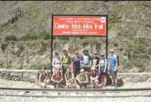 IncaTrail trek / Final section of the ceremonial Inca Trail - the most popular route to Machu Picchu