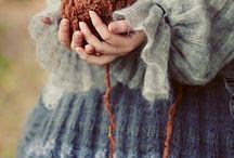Cet hiver je tricote.