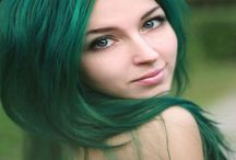 Hair / Beautiful hair colours and extensions