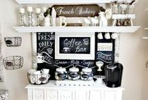 Coffee station / by Twinkle Time