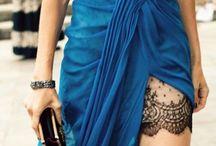 Blue is the  new Black / Não tenha vergonha do seu corpo. Vista a roupa que quiser e seja dona de si mesma.