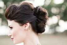Wedding hairstyle / hairstyle