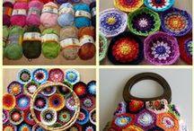 YARN FUN  / Crochet and knitting _____ Háčkování a pletení /základy i zajímavosti/