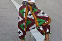 African print inspired fashion