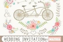 Wedding Invitations / Wedding invitations for all types of weddings from formal to casual. #diy #wedding #invitations
