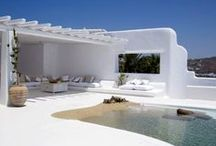 Blissful Greek Island Inspirations / When creating a new Bliss Sanctuary, it's all about authentic inspiration.