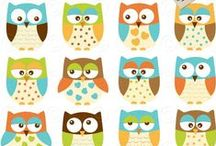 Owl Clip Art / Check out a variety of our owl clip art and designs #owl #clipart #images #vectors #design