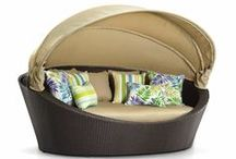 Daybeds and Sunlounges / Wonderful, comfortable daybeds and sunlounges. Available from www.outdoorelegance.com.au