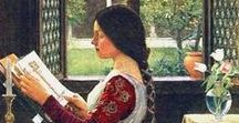 favourite paintings / paintings, art, pre-raphaelites, oils, oil paintings, watercolours, watercolour paintings, poetry, illustration
