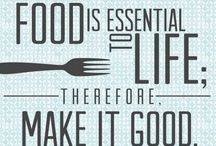 Foodies Unite!  / For those who love food, cooking and of course eating!