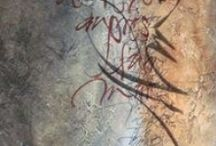 calligraphy / calligraphy, writing, alphabets, ink, design, typography