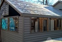 Corrugated Polycarbonate / Applications featuring Corrugated Polycarbonate.