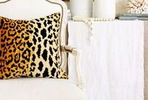 You Wild Thing: Inspired by Fierce Style / For every woman that wants to express her wild side through her decor