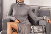 Grey Fashion, Shoes and Accessories