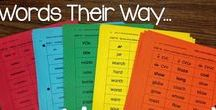 Words Their Way Ideas / Ideas and resources for using Words Their Way including some great organization tips for teachers!   Australian | Curriculum | Primary | Early Childhood | Reading  Phonics | Activities | Math | Science | Geography | Assessments | Resources | TpT |