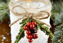 Christmas inspiration / Festive ideas to build on & design my own....