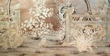 """Chinoiserie Chic / Chinoiserie is the French word that means """"in the Chinese taste."""" A blend of Asian and European design, the fanciful look has been in vogue for over 300 years and it isn't going away anytime soon. Shop these gorgeous pieces and get the look for a fraction of the cost."""