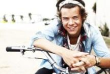 Harry Styles / Harry Edward Styles......Hazza <3 / by One Direction