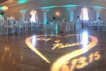 Jason Mello DJ & Uplighting / Pictures of various Wedding setup's and decor's!