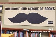 Library Bulletin Boards / by Janna Hendley