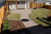 Outdoor Living Spaces / Many ways to create usable surfaces and areas outdoors.  Patios, walkways, driveways and relax-ways...