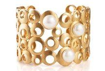 Pearl Bracelets & Cuffs / Lavish pearl bracelets, pearl cuffs, pearl bangles. #pearl #pearls