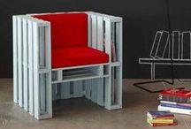 RECYCLE | pallets / Pallet-recycling die mij inspireert | van klein tot groot | van speels tot strak | van leuk tot functioneel | meer weten over mij > architectenbureau www.weberontwerpt.nl