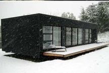 Container House Ideas / Shipping Container Houses and Interior Design Ideas