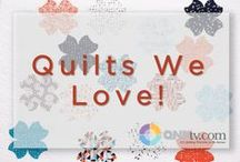 QNN Loves Quilts! / I just HAD to repin it. / by QNNtv.com