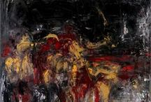 Oil Paintings by Birute Nomeda Stankuniene / Oil Paintings, in Abstract Expressionism style by Birute Nomeda Stankuniene