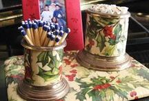 Holly Collectibles / All things holly oriented including china, paper, ephemera and boxes!