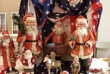 Patriotic / Passionate about their country, the Victorians showed their patriotic pride especially at Christmastime!