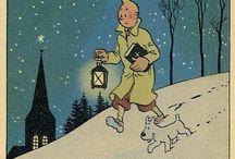 Ollie1950 kuifje / Cartoons