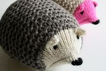 Toys / Stuffies, Plushies, and little snuggly buddies. Toys can be a great way to use your leftover yarns too!