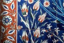 Exotic Tulips / Blooms abound in Soane Britain's botanical print fabrics - including the tulip, a flower with an exotic Oriental history.