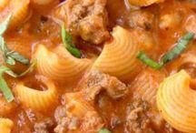 Pasta, Rice, Noodles and Dumplings