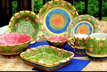 Ceramic Art / Hand painted pottery, painting and glazing methods, inspirations and interesting designs.